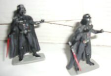 LOT 2 FIGURINES PLOMB ED. ATLAS // DARK VADOR - STAR WARS