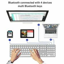 Wireless Keyboard Android PC Bluetooth 3.0 Wireless Keyboards With Numeric Suppo