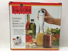NEW, French Cafe BBQ and Salad Chef Combo Set