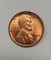 1946 Lincoln Wheat Cent Beautiful Choice Uncirculated Red Priced Right FREE S&H