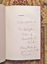 ELLEN GILCHRIST POEMS 1975-1985 HERB YELLIN'S COPY WARMLY INSCRIBED BY GILCHRIST