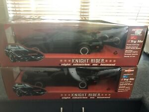 2 x NIB Hitari Knight Rider Cars On Different Frequencies. The Last 2 Available.
