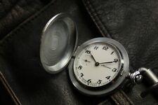 USSR Vintage MOLNIJA MOLNIA Pocket Watch 1970's Mechanical Cal. 3602 - SERVICED