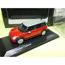 BMW MINI COOPER CLUBMAN Rouge & Gris MINICHAMPS 1:43