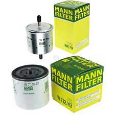 Mann-filter Set Ford Escort VII Combi GAL Anl 1.3 1.4 Orion III Avl All 1.4i