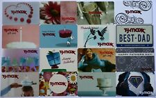 16 TJ Maxx Vintage Empty Gift Card Department Store Lot