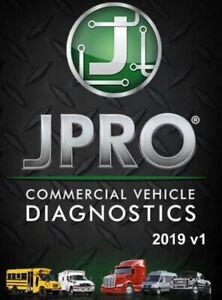 JPRO Commercial Fleet Diagnostics 2019 V2 Full Program + Next Step [ Activated ]