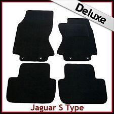 JAGUAR S-Type Automatic 2002-2008 su Misura Lusso Tappetini 1300 G Nero