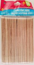 JUMBO WOODEN CRAFT POPSICLE STICKS 6
