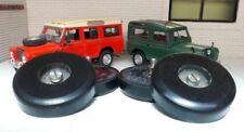 Land Rover Series 2 2a 3 Bonnet Spare Wheel Buffers & Stainless Bolt 336473 Set