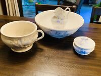 Vintage 19th Century Royal Ironstone China Warranted Washing Set