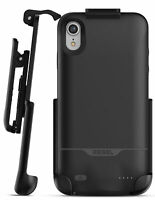 iPhone XR Battery Smart Case And Holster | Portable Charging Cover w/ Belt Clip