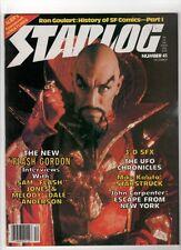 STARLOG MAGAZINE #41THE NEW FLASH GORDON 3D SFX THE UFO CHRONICLES