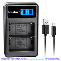 Kastar Battery LCD Dual Charger for Sony NP-FM50 & Sony CCD-TRV408 CCD-TRV438