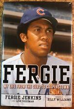 Signed Fergie Jenkins Fergie 1st Hcdj vgc Chicago Cubs Hall of Fame
