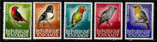 Rep.TOGO 1964/65 Birds in natural color, serie 5 air post stamp C36-C40 1m449