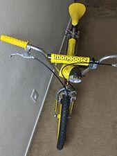 Mongoose Stranger Things Bmx - 20 inch Bmx Bike - Yellow