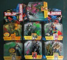 Lot of 7 JLA Kenner Total Justice Aquaman Parallax Superman Action Figures