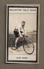 1900 JAAP EDEN NETHERLANDS CYCLIST TRADE CARD