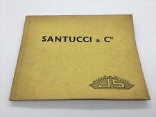 SANTUCCI & CIE PIÈCES DÉTACHÉES 4 EM ÉDITION 1966 PEUGEOT 203 C/403 COMPLET