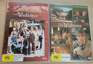 The Waltons The Complete First & Second Seasons DVD Region 4 NTSC