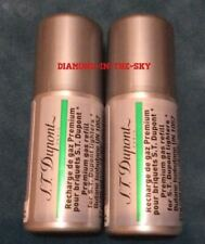 ST DUPONT GREEN BUTANE GAS FUEL REFILL FOR GATSBY PETIT LINE 2 LIGHTER 2 x CANS
