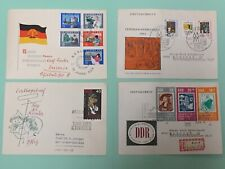 New listing 4 First Day Covers from the German Democratic Republic (Gdr) from 1964