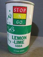 STOP -N- GO_ LEMON-LIME_ WIDE SEAM STEEL SODA CAN   -[READ DESCRIPTION]-