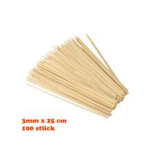 Bambu Holzstäbchen 25cm 100 Stück