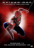 Spider-Man 5-Movie Collection [DVD] 1 2 & 3 + AMAZING 1 & 2 BRAND NEW SEALED