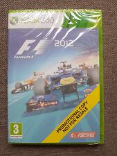Microsoft Xbox 360 juego F1 2012 Formula 1 2012 Nuevo Sellado Versión PROMO