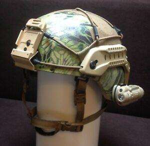 MICH/ACH Helm NIJ IIIA Ballistic L/XL (Kryptek) Gentex ISAF EGB KSK DSO