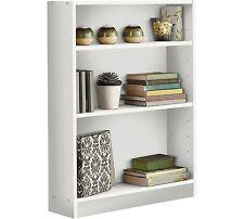 MDF Wood Effect 3 Tier Shelf  Display Unit Kids Children's Book Storage Bookcase