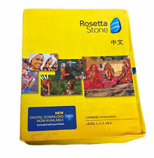 Rosetta Stone | Chinese Mandarin | Level 1,2,3,4 & 5 | Brand New | Ver 4 | 30225