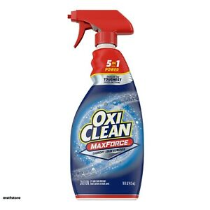 OxiClean MaxForce Laundry Stain Remover Spray Bottle , 16 Fl Oz -- FREE SHIPPING