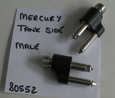 MARINER MERCURY OUTBOARD MALE FUEL HOSE CONNECTOR, ONE, TANK SIDE, PAT 80552