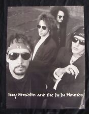 Izzy Stradlin And The Ju Ju Hounds Album poster original 1992 record store prom