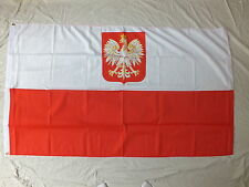Polish Imperial Eagle Flag Poland Polski Polska Warsaw Sports Trade Business 5x3