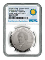 1903 Morgan Treasury 1 oz Silver PF Pattern NGC GEM Proof Smithsonian SKU54457