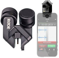 Rode iXY Lightning Stereo-Aufsteckmikrofon für iPhone 5/5s/5c/6/6 plus