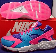 Nike Air Huarache Run iD Blue Pink Purple SZ 7 /// Womens SZ 8.5 ( 777330-992 )