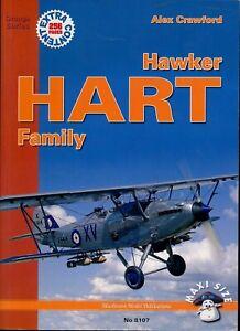 Hawker Hart Family - Orange Series (MMP Books) - New Copy