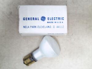 GE 1383 20w 13v R12 Frost Ba15S base Elevator Incandescent Bulb