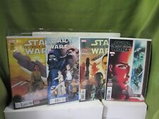 Star Wars: The Force Awakens #1,2,3,4 Marvel Comics Movie Adaptation