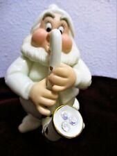 Disney Showcase Treasures Lenox Snow White's Happy's Hideaway w 24 K Gold Trim