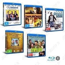 Bulk Blu-ray 5 Movie Pack : Action Drama Thriller Documentary : New & Sealed