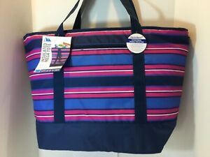 California Innovations Arctic Zone Blue Insulated Tote Bag XXL Hot Frozen Food