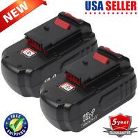 2X 18V 18Volt Ni-MH PC18B Battery for Porter Cable PCC489N PC188 PCXMVC PC186CS