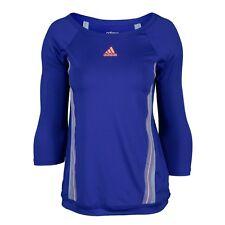 Adidas Women's Adizero Three Quarter Sleeve Tennis Tee, Size S,(rtl $55)