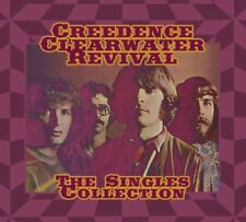 Creedence Clearwater Revival The Singles Collection Box set 2CD+1DVD Caja de car